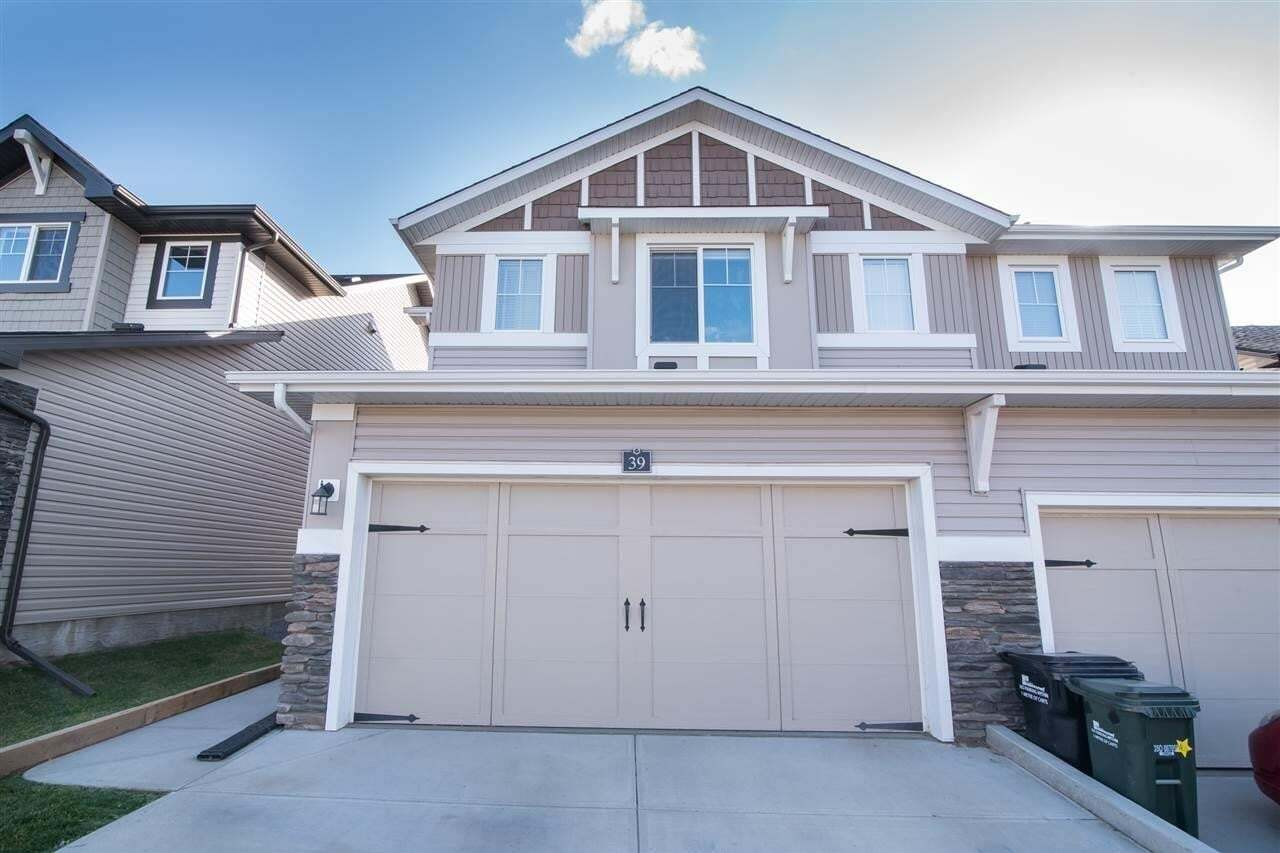 Townhouse for sale at 21 Augustine Cr Unit 39 Sherwood Park Alberta - MLS: E4215372