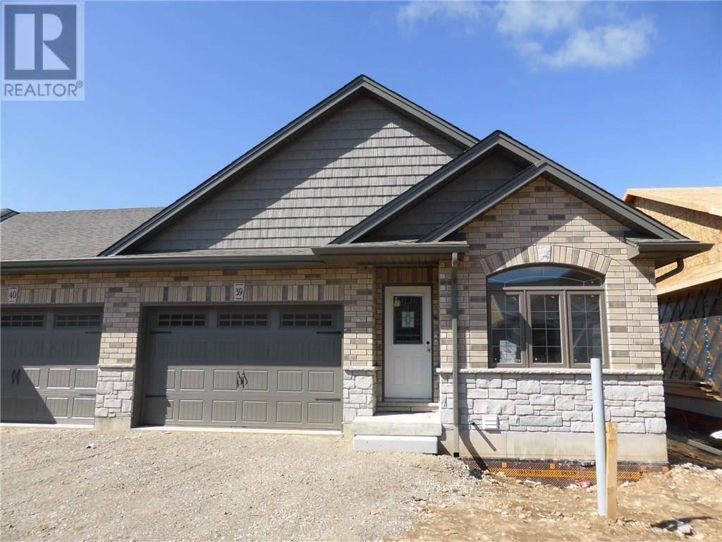 Townhouse for sale at 29 Schuyler St Unit 39 Paris Ontario - MLS: 30802182