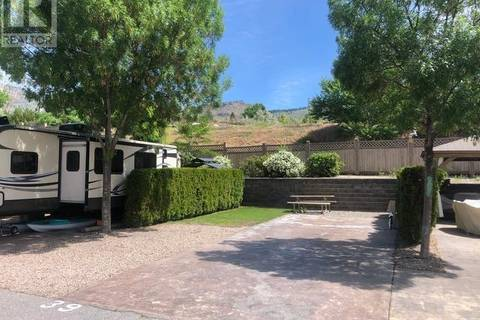 Residential property for sale at 3207 Lakeshore Dr Unit 39 Osoyoos British Columbia - MLS: 161357