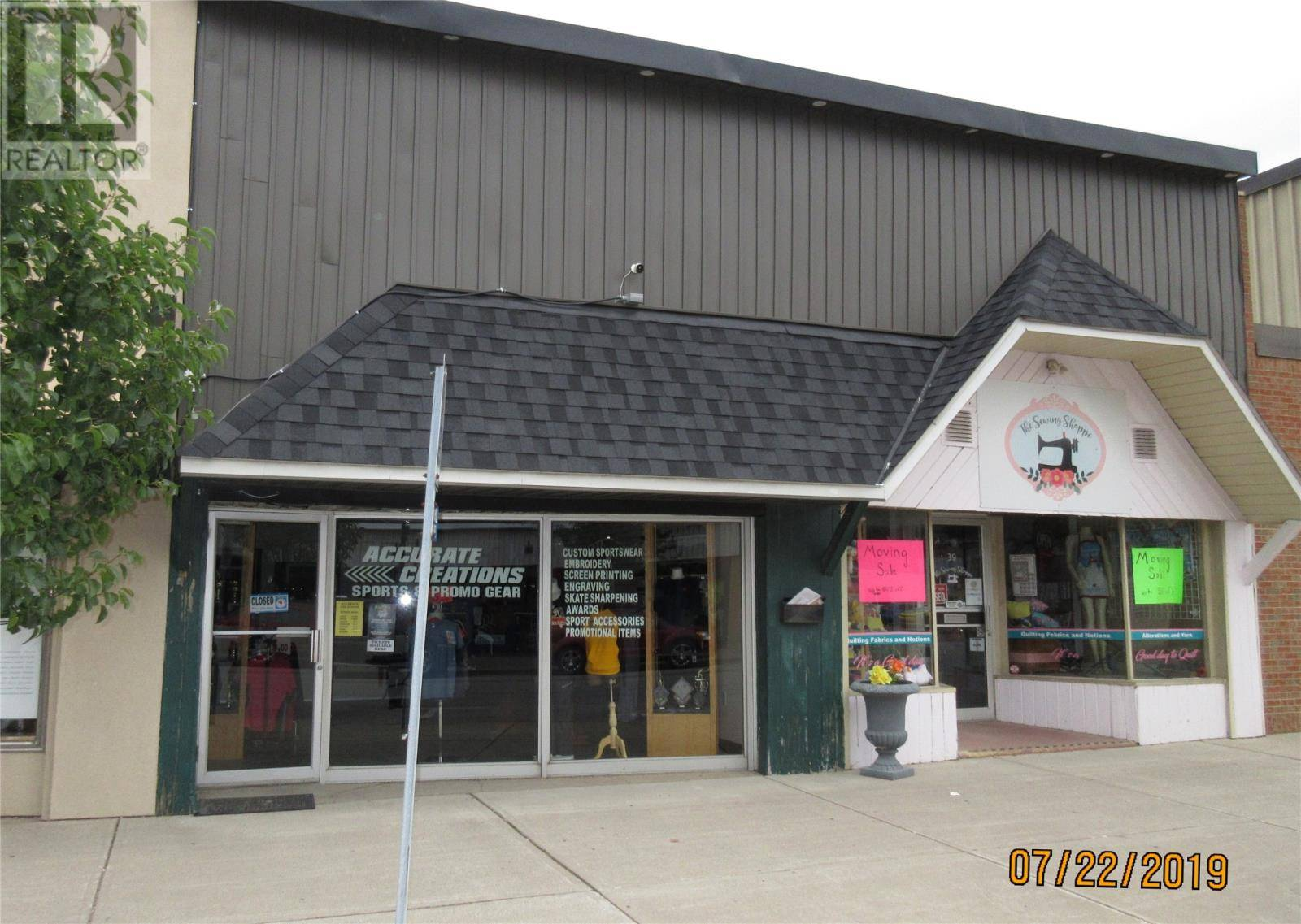 Commercial property for sale at 39 Talbot  North Essex Ontario - MLS: 19023270