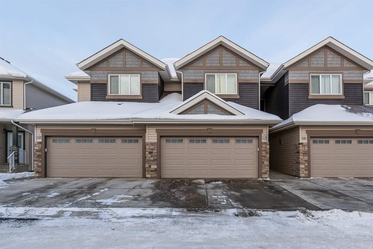 Townhouse for sale at 4835 Wright Dr SW Unit 39 Edmonton Alberta - MLS: E4221737