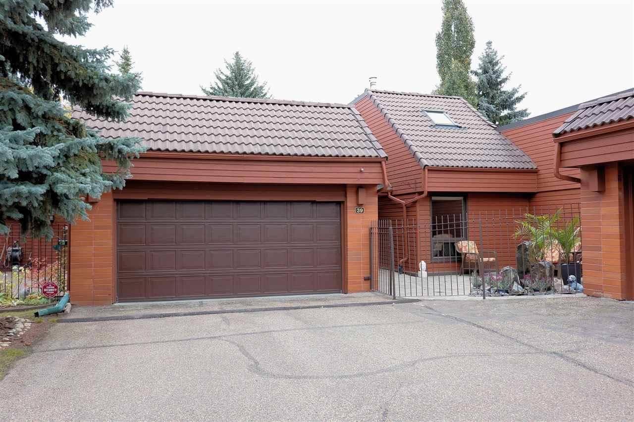 Townhouse for sale at 500 Lessard Dr Nw Unit 39 Edmonton Alberta - MLS: E4176596
