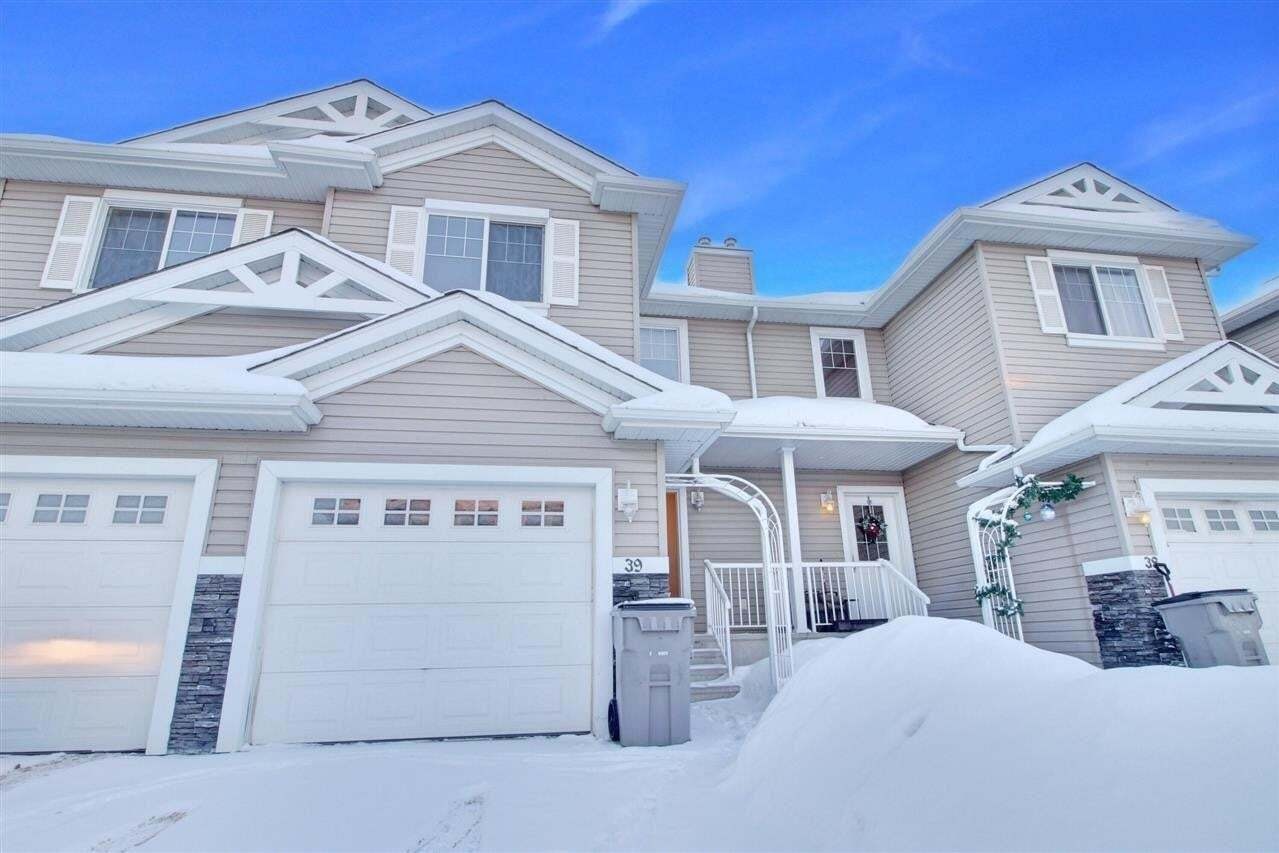 Townhouse for sale at 5101 Soleil Bv Unit 39 Beaumont Alberta - MLS: E4199148