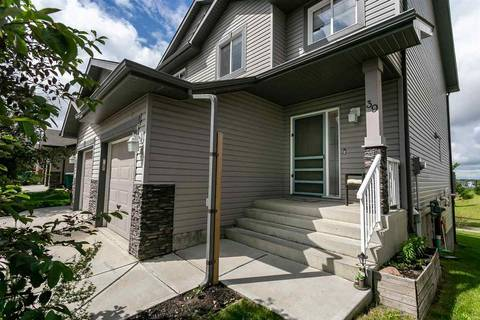 Townhouse for sale at 85 Spruce Village Dr Unit 39 Spruce Grove Alberta - MLS: E4163567