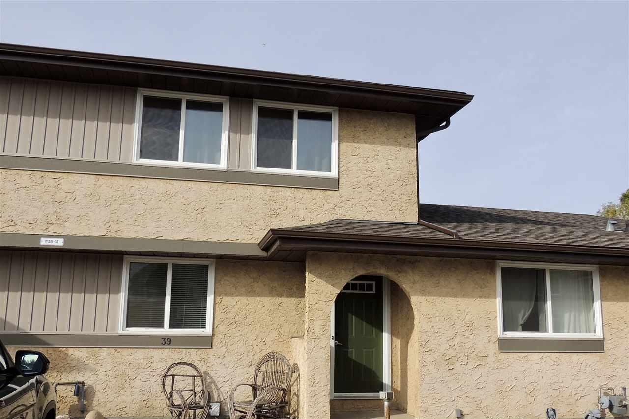 Townhouse for sale at 8930 99 Av Unit 39 Fort Saskatchewan Alberta - MLS: E4217851
