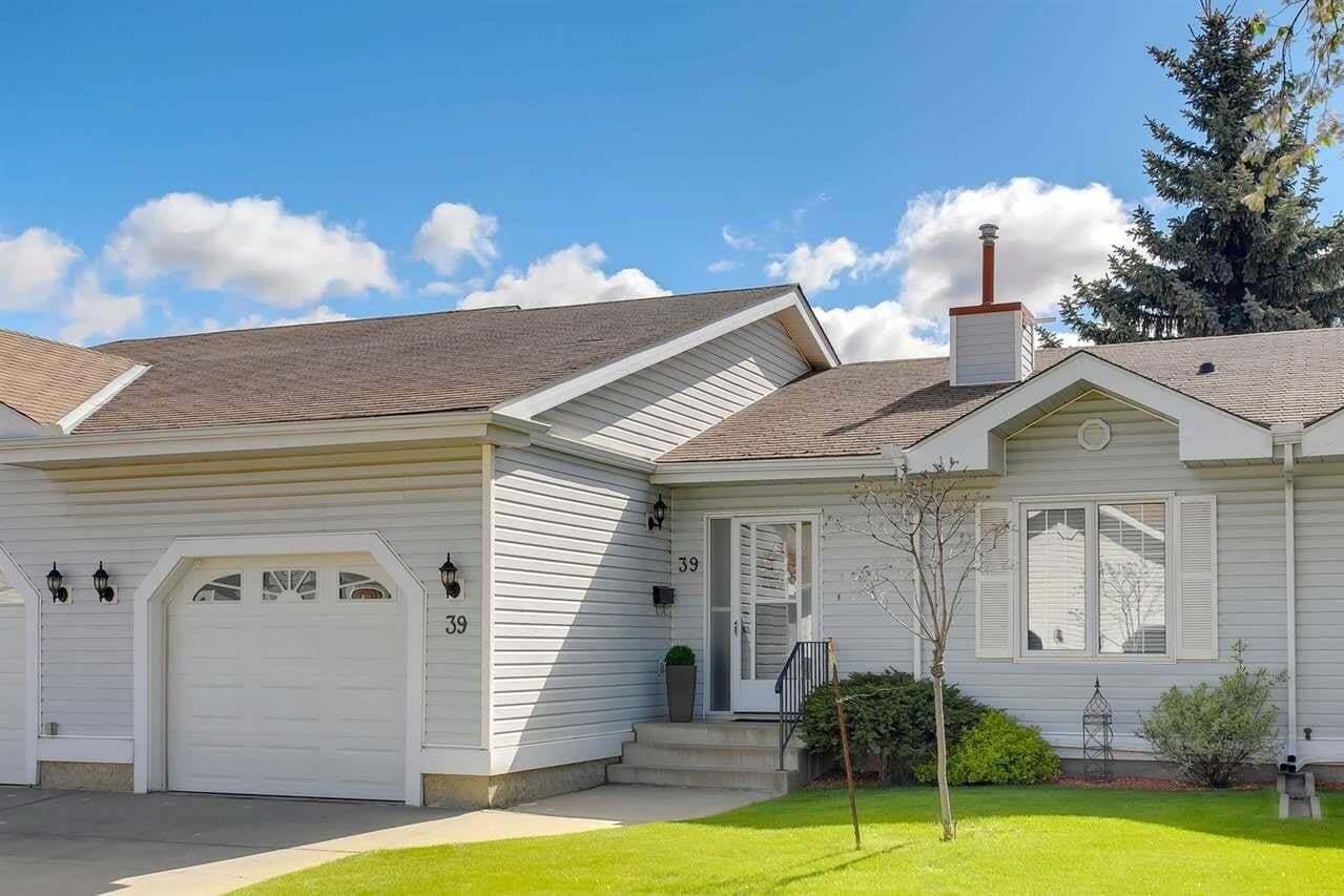 Townhouse for sale at 9704 165 St NW Unit 39 Edmonton Alberta - MLS: E4200710