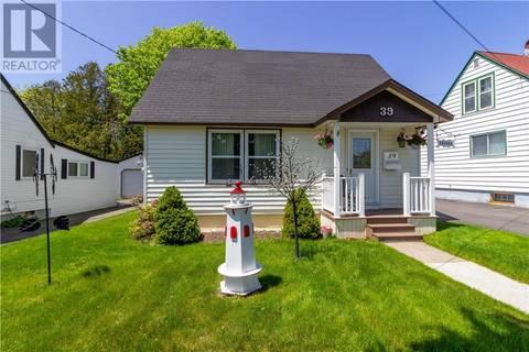 House for sale at 39 Beaverbrook Ave Saint John New Brunswick - MLS: NB025882