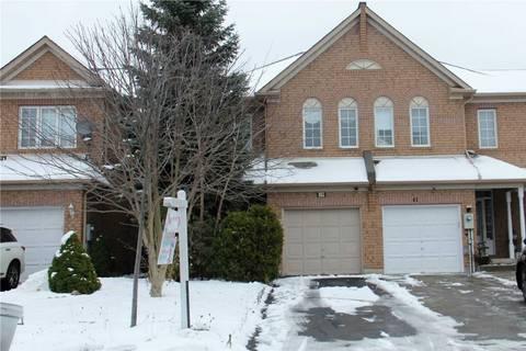 Townhouse for sale at 39 Craddock St Vaughan Ontario - MLS: N4636343