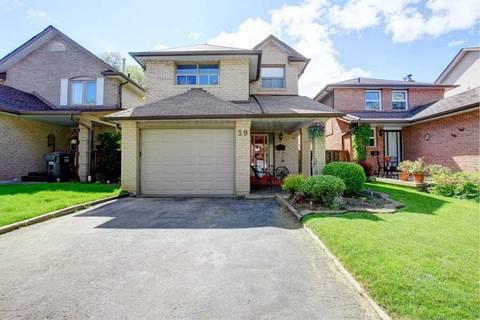 House for sale at 39 Garden Ave Brampton Ontario - MLS: W4474294