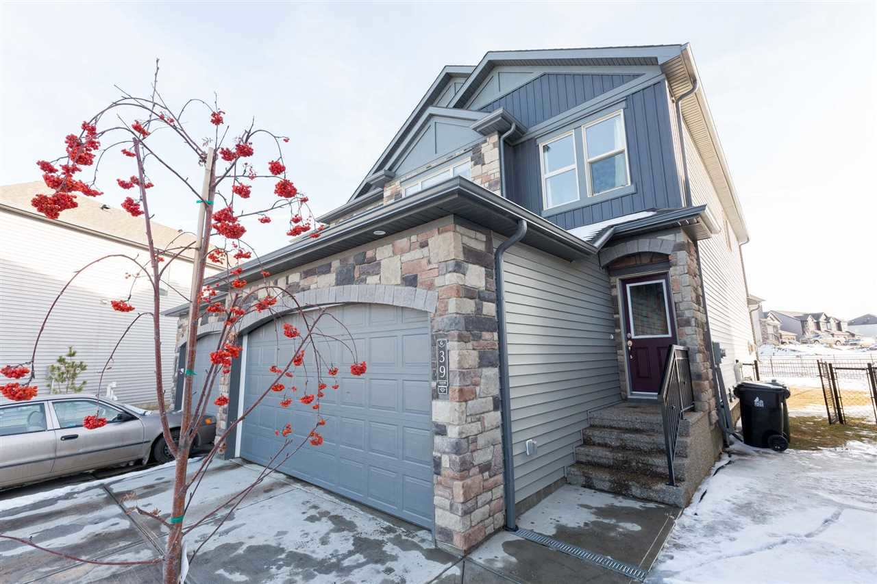 For Sale: 39 Gilmore Way, Spruce Grove, AB   3 Bed, 4 Bath Townhouse for $379,000. See 19 photos!