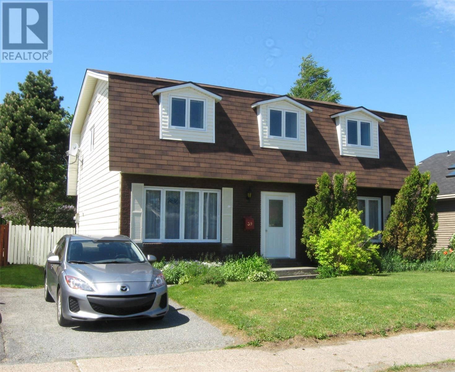 House for sale at 39 Jasper St St. John's Newfoundland - MLS: 1206947
