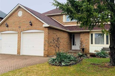 House for sale at 39 Jimston Dr Markham Ontario - MLS: N4735838