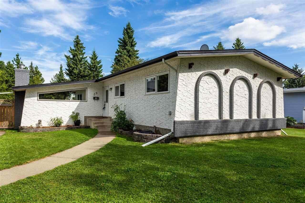 House for sale at 39 Labelle Cr St. Albert Alberta - MLS: E4211381