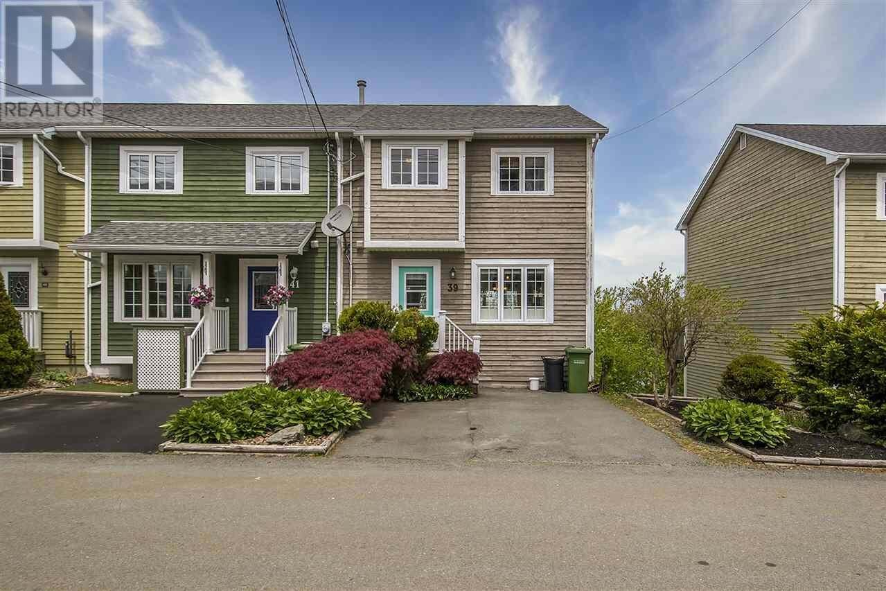 Townhouse for sale at 39 Peruz Ct Bedford Nova Scotia - MLS: 202009371