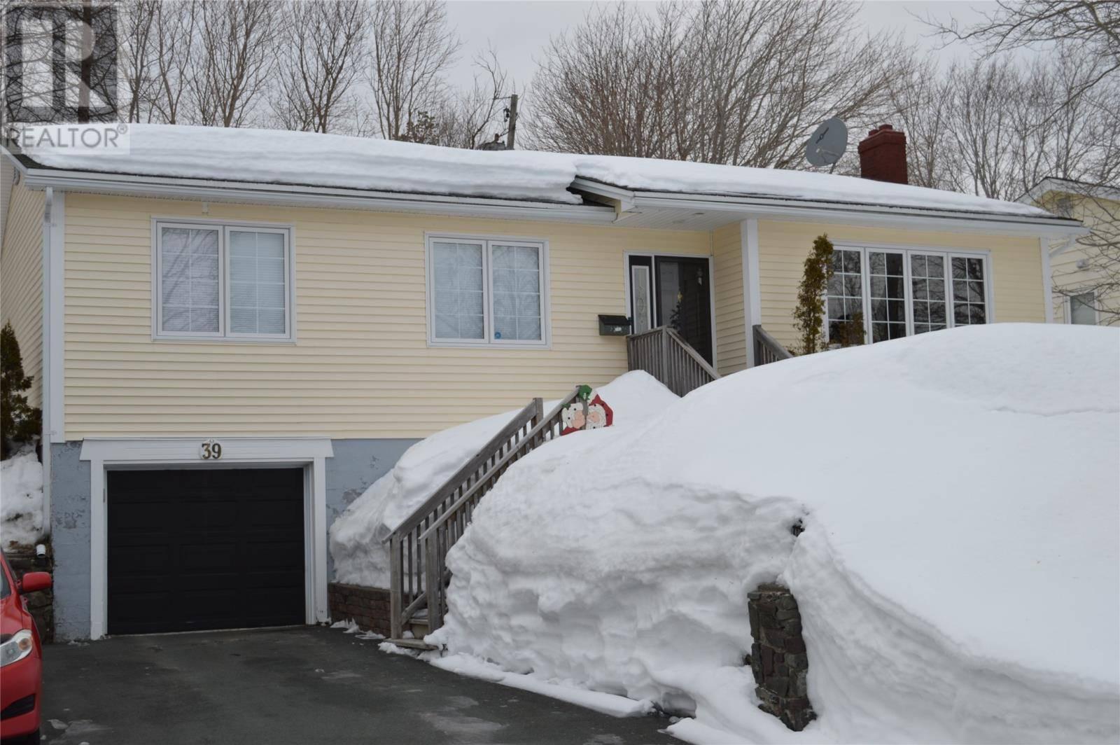 House for sale at 39 Reid St St. John's Newfoundland - MLS: 1210017