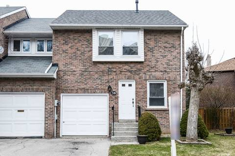 Townhouse for sale at 39 Stoneham Rd Toronto Ontario - MLS: W4408833