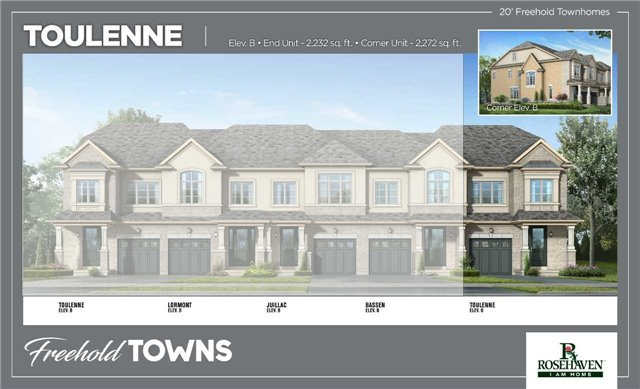 For Sale: 39 Taverny Road, Hamilton, ON | 3 Bed, 4 Bath Townhouse for $649,990. See 3 photos!