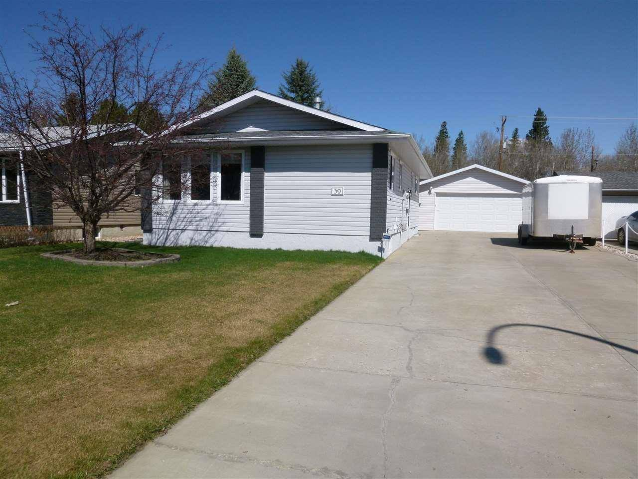 House for sale at 39 Umbach Rd Stony Plain Alberta - MLS: E4187846