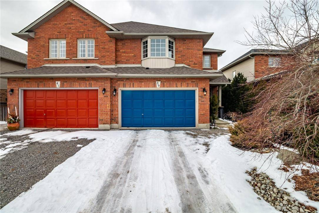 Townhouse for sale at 39 Valmont St Hamilton Ontario - MLS: H4072960