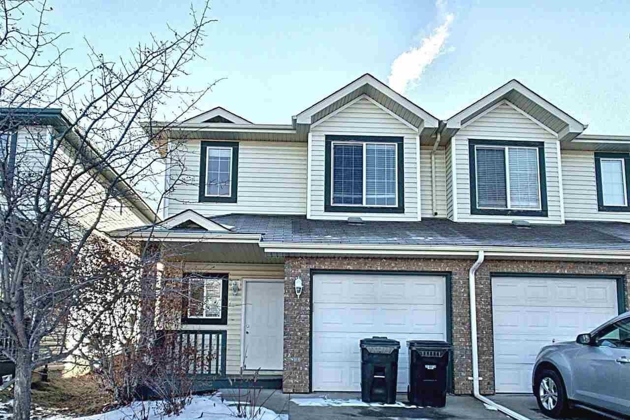 Townhouse for sale at 39 Vaughn Av Spruce Grove Alberta - MLS: E4224819