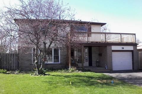 House for sale at 39 Watson Cres Brampton Ontario - MLS: W4482744