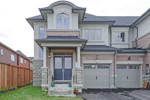 Townhouse for sale at 39 Yarmouth St Brampton Ontario - MLS: W4523050