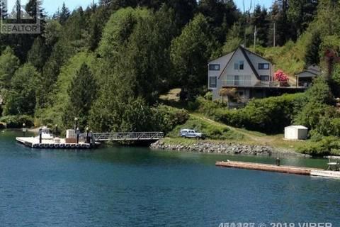 House for sale at 390 Bamfield Inlet Bamfield British Columbia - MLS: 451465