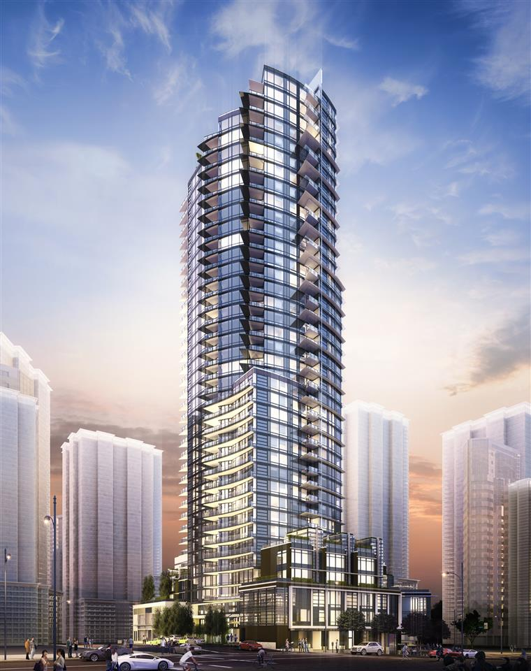 Sold: 3904 - 1283 Howe Street, Vancouver, BC
