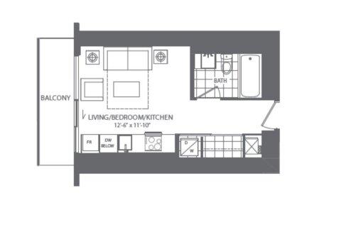 Apartment for rent at 100 Harbour St Unit 3911 Toronto Ontario - MLS: C4994152