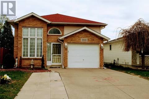 House for sale at 3919 St. Julien Ave Windsor Ontario - MLS: 19018430