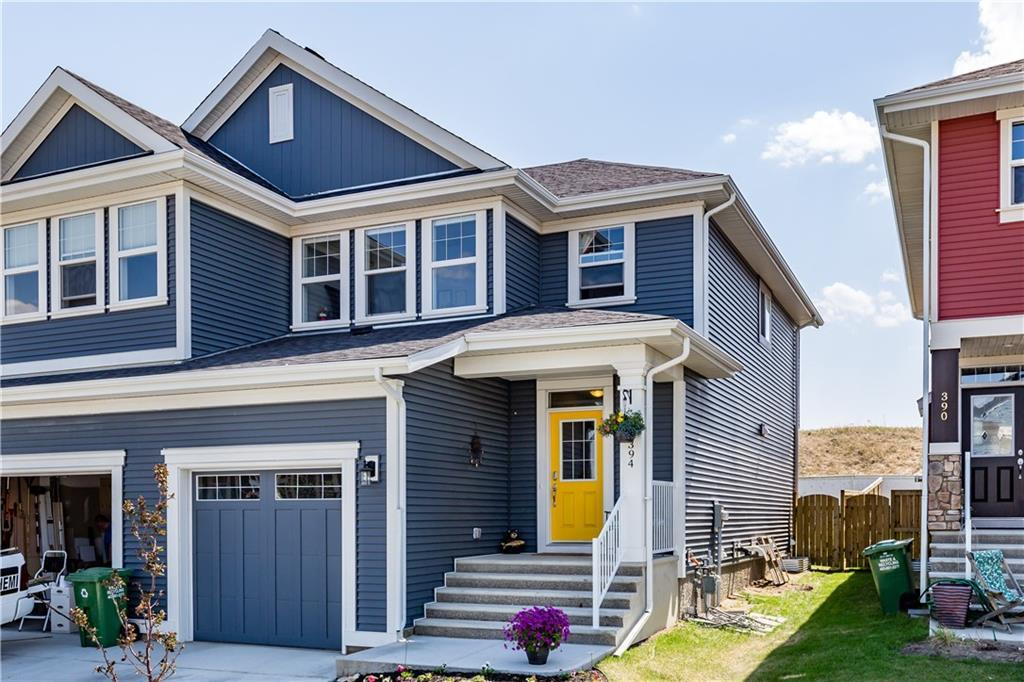 For Sale: 394 River Heights Crescent, Cochrane, AB | 3 Bed, 3 Bath Townhouse for $367,000. See 32 photos!