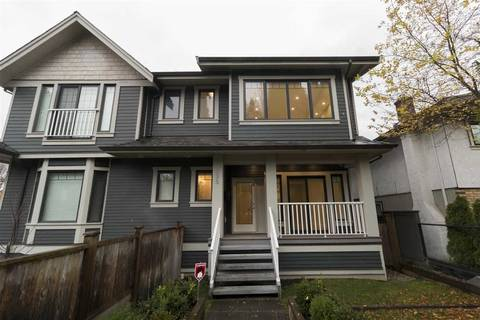 Townhouse for sale at 395 16th Ave W Vancouver British Columbia - MLS: R2365288