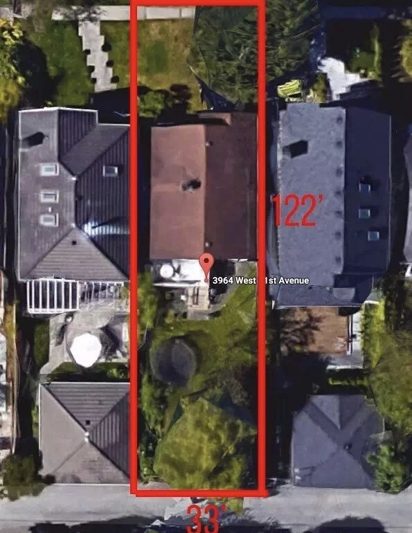 For Sale: 3964 W 21st Avenue, Vancouver, BC | 3 Bed, 2 Bath House for $2,980,000. See 2 photos!