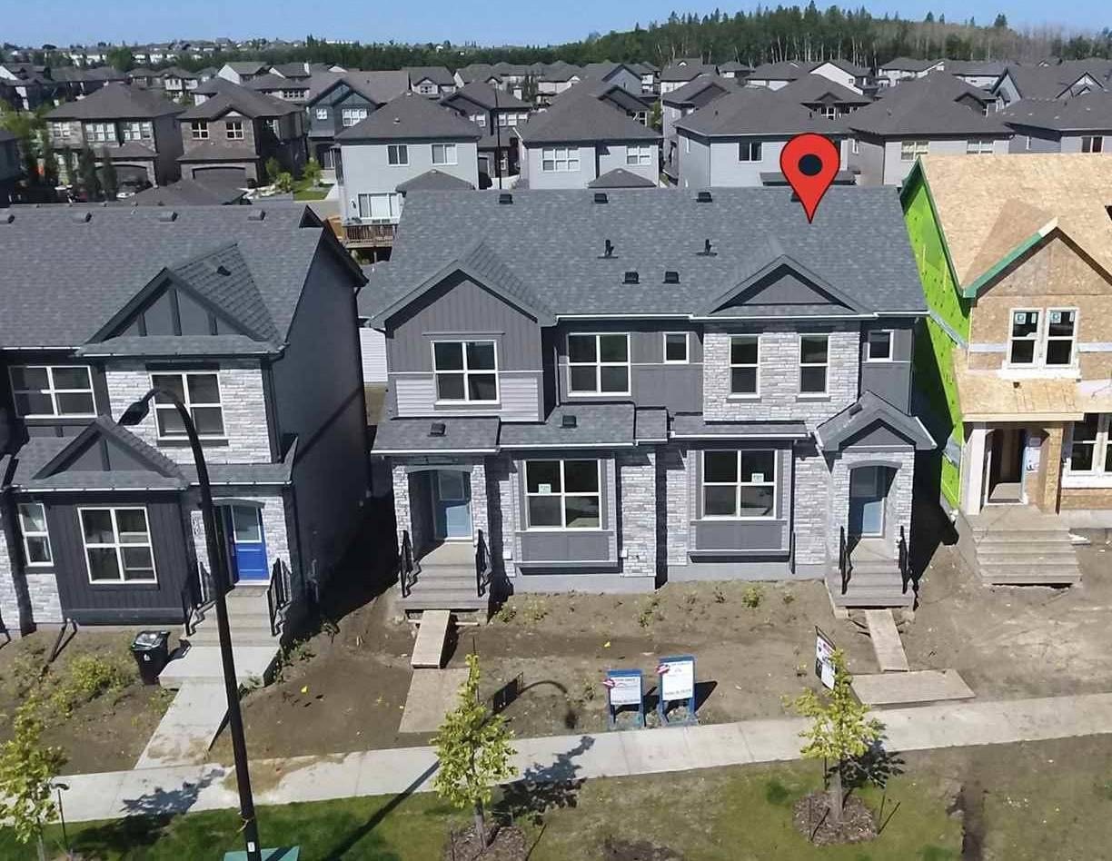 Townhouse for sale at 397 Pioneer Rd Spruce Grove Alberta - MLS: E4165448
