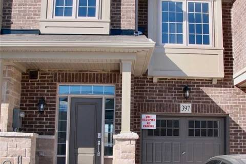 Townhouse for sale at 397 Threshing Mill Blvd Oakville Ontario - MLS: W4351334
