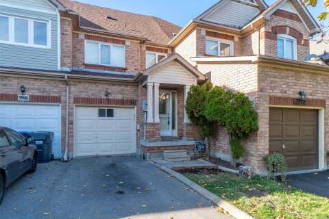 Townhouse for sale at 3979 Discovery Ct Mississauga Ontario - MLS: W4959214