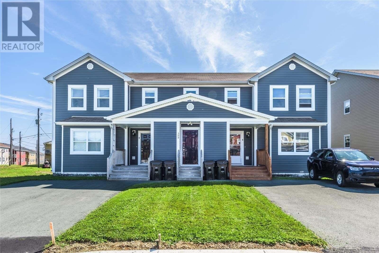 House for sale at 399 Blackmarsh Rd St. John's Newfoundland - MLS: 1218652