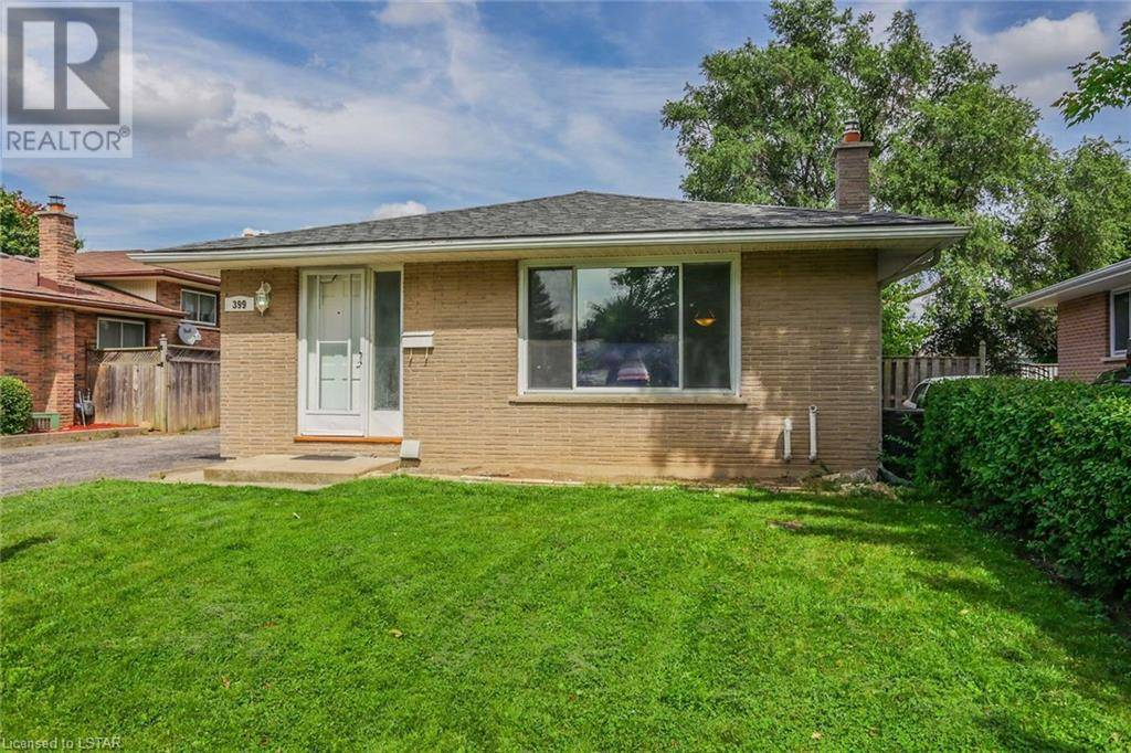 House for sale at 399 Hudson Dr London Ontario - MLS: 217910
