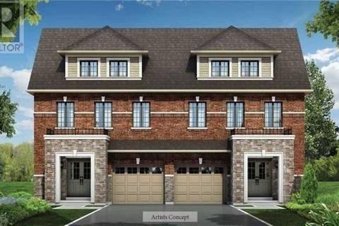 Townhouse for sale at 0 Fasken Ct Milton Ontario - MLS: W4502975