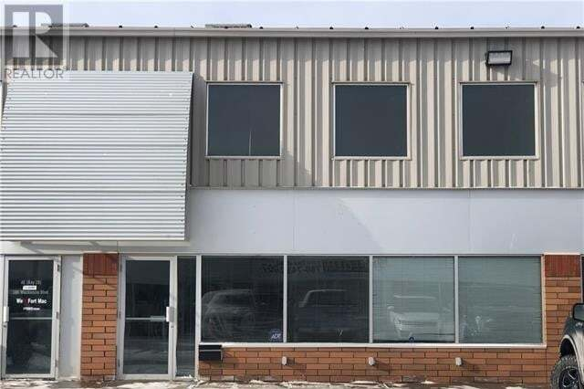 Commercial property for sale at 380 Mackenzie Blvd Unit 3e Fort Mcmurray Alberta - MLS: fm0191356