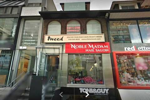 Commercial property for lease at 128 Cumberland St Apartment 3rd Flr Toronto Ontario - MLS: C4523470
