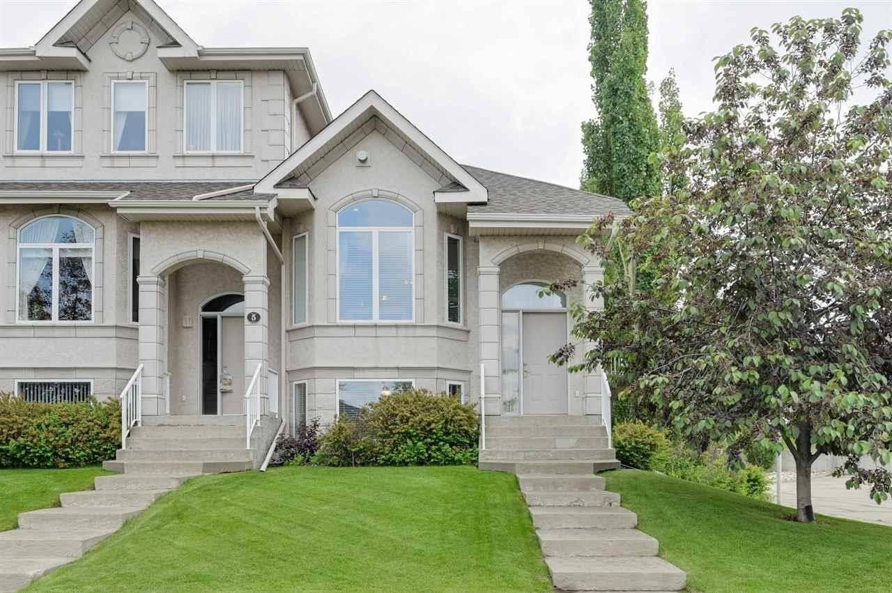 Townhouse for sale at 101 Jim Common Dr Unit 4 Sherwood Park Alberta - MLS: E4163452