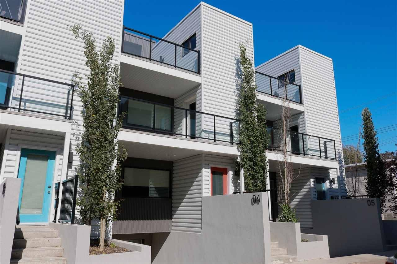 Townhouse for sale at 10307 120 St Nw Unit 4 Edmonton Alberta - MLS: E4184102