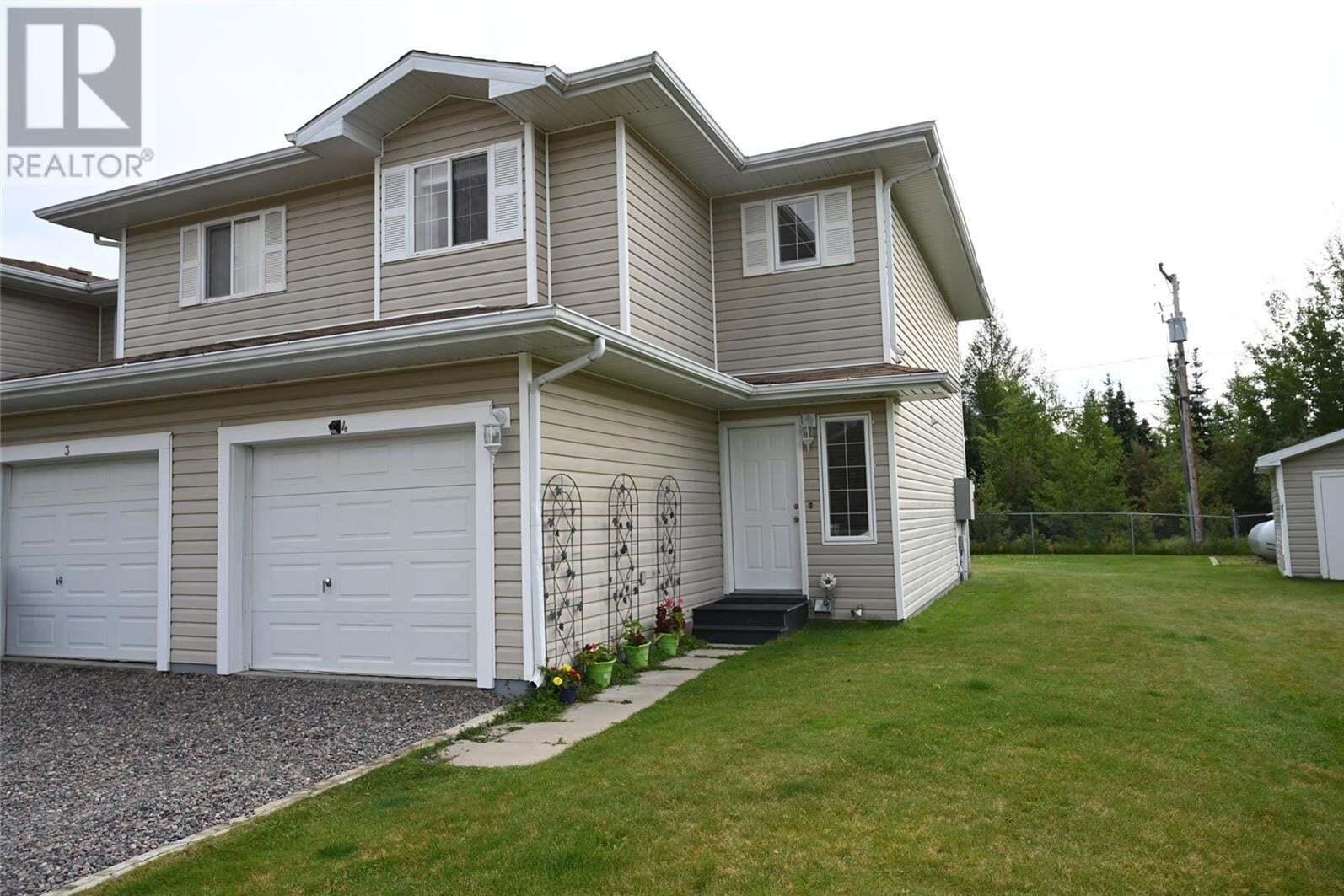 Townhouse for sale at 1327 Studer St Unit 4 La Ronge Saskatchewan - MLS: SK812817