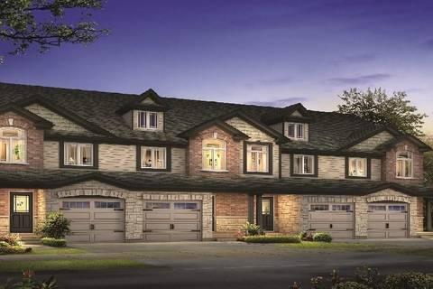 Townhouse for sale at 179 Bawcutt Cres Unit 4 Paris Ontario - MLS: 30731506