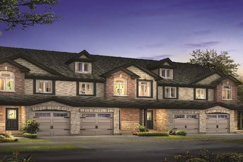 Townhouse for sale at 182 Bawcutt Cres Unit 4 Paris Ontario - MLS: 30731603