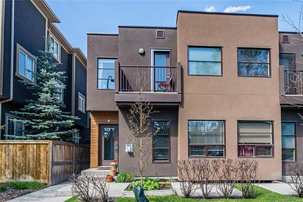Townhouse for sale at 1935 35 St SW Unit 4 Killarney/glengarry, Calgary Alberta - MLS: C4297598