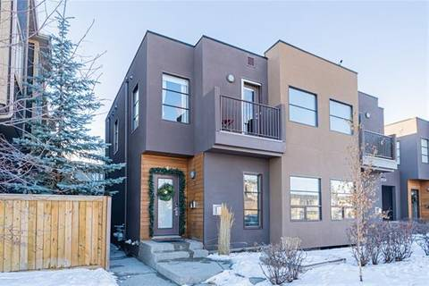 Townhouse for sale at 1935 35 St Southwest Unit 4 Calgary Alberta - MLS: C4278683