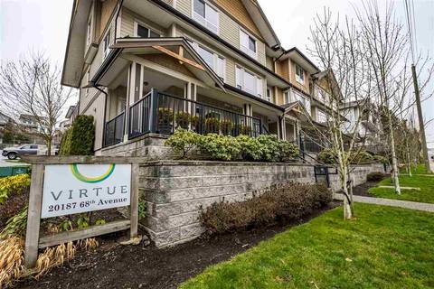 Townhouse for sale at 20187 68th Ave Unit 4 Langley British Columbia - MLS: R2443167