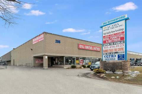 Commercial property for sale at 286 Rutherford Rd Unit 4 Brampton Ontario - MLS: W4850666